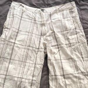 Men's VANS plaid shorts